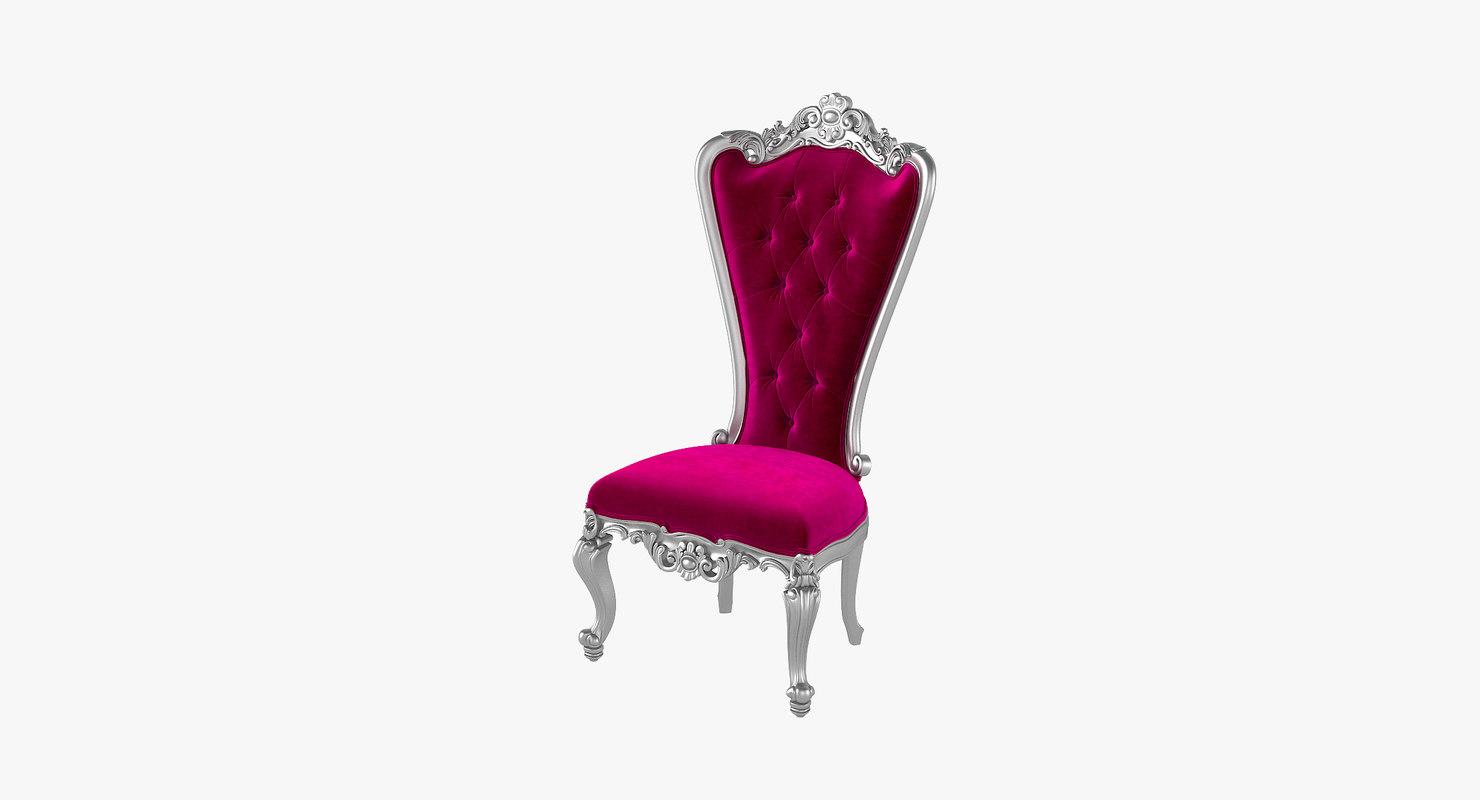 3D absolom roche chair - model