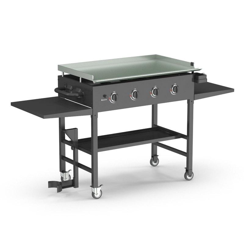 outdoor grill 3D model