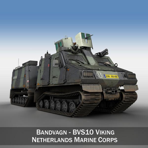 bvs10 viking - netherlands 3D
