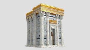 3D herod s temple pristine