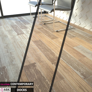 tile abk contemporary docks 3D