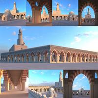 Arabic mosque Islamic building