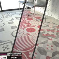3D tile abk contemporary docks