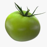 green tomato 3D model