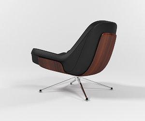 3D mikasa lounge armchair