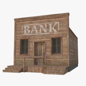 western building 1 3D model