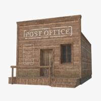 western building 3D