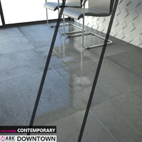ABK COLLECTION CONTEMPORARY DOWNTOWN GRAPHITE