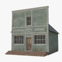 western building 4 model