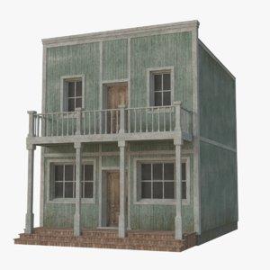 western building 5 3D model