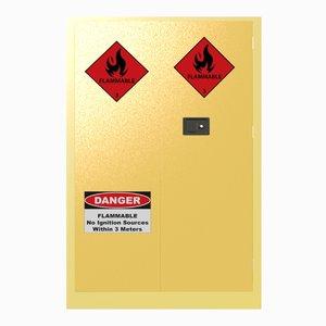 3D hazardous chemicals cabinet
