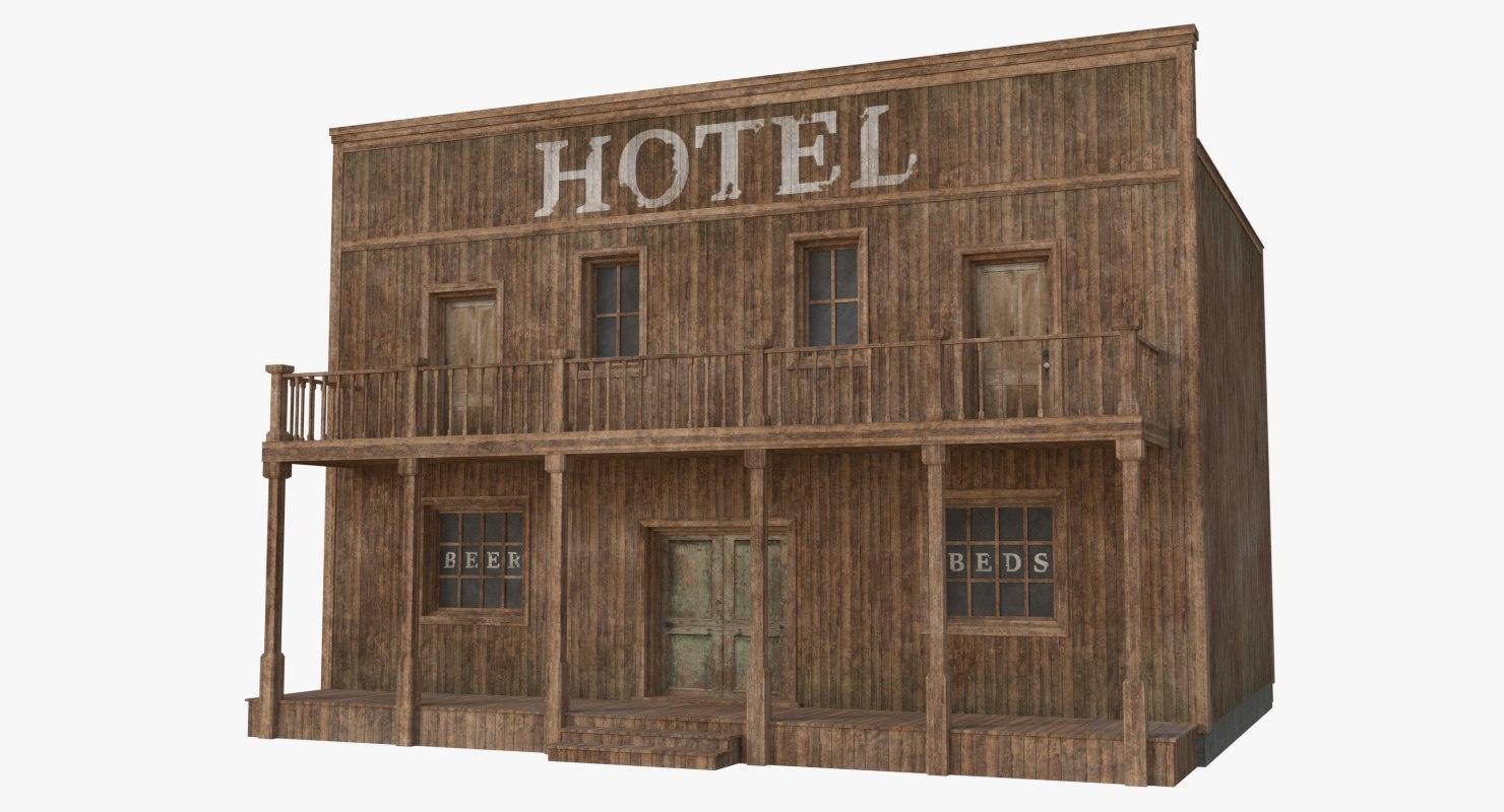 western building 7 3D model