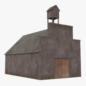 3D western building 9