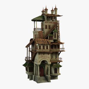 big house 3D model