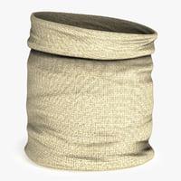 3D model fabric bag