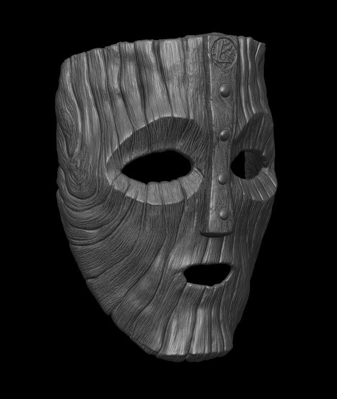 loki mask 3D model