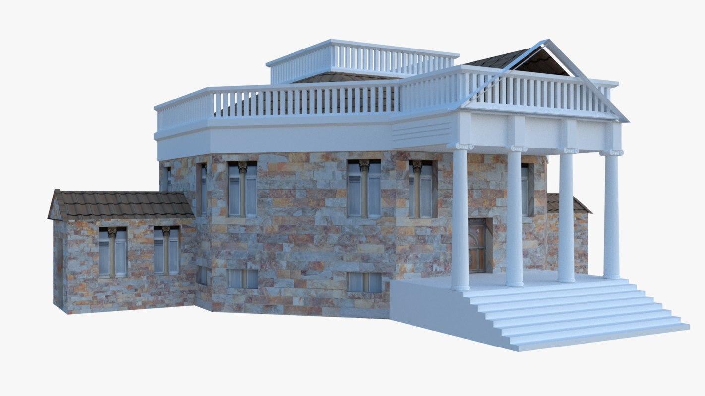 mansion 3D