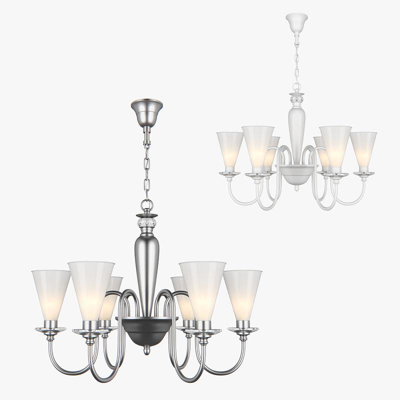 chandelier torica lightstar 3D model