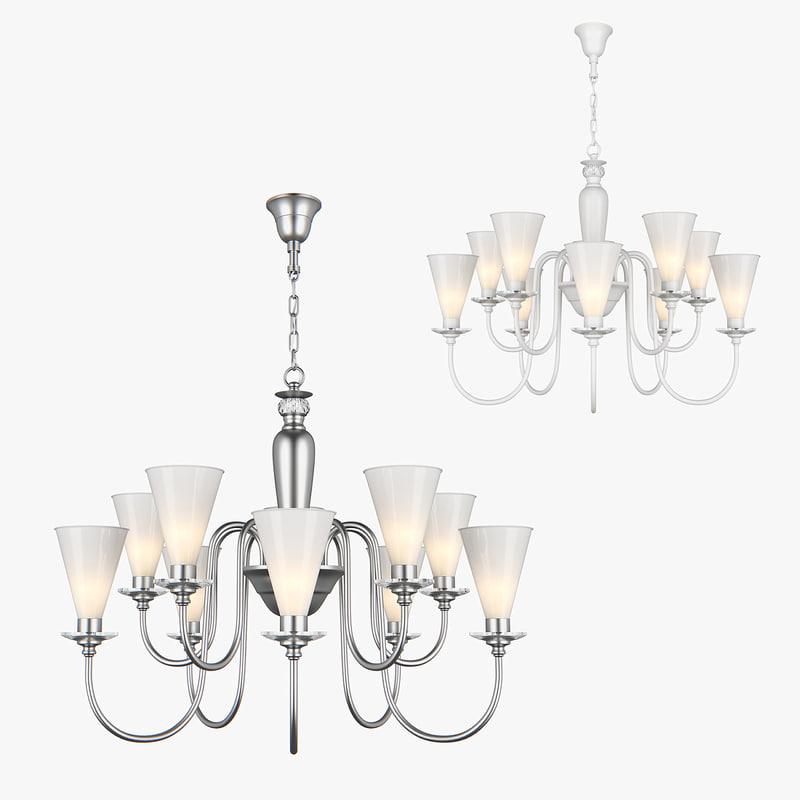 3D chandelier torica lightstar model
