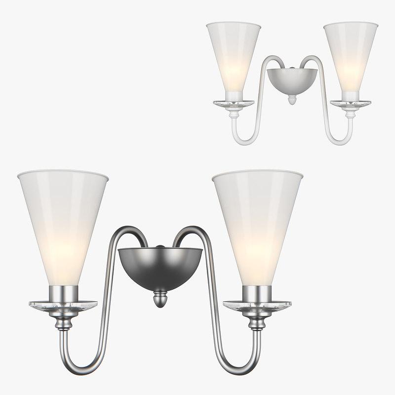 3D sconce torica lightstar