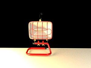 3D work light model