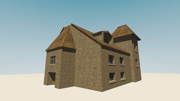 manison 3D model