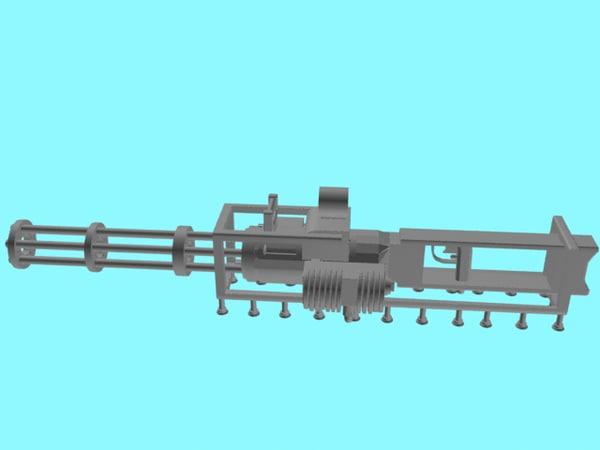 minigun microgun rifle hye-90 model