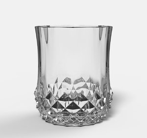 3D whiskey cups