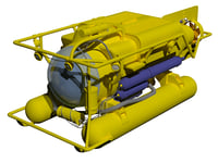 3D submersible model