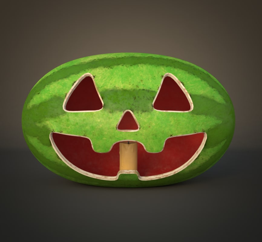 watermelon gravity falls 3D model