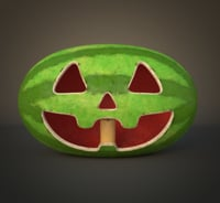 watermelon gravity falls 3D model