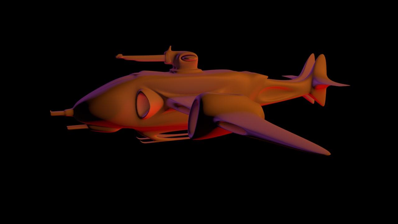 3D space patrol