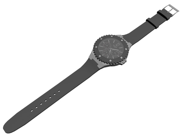 guess watch 3D