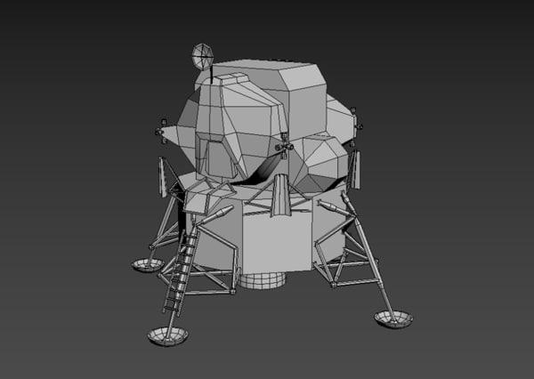 3D apollo lunar