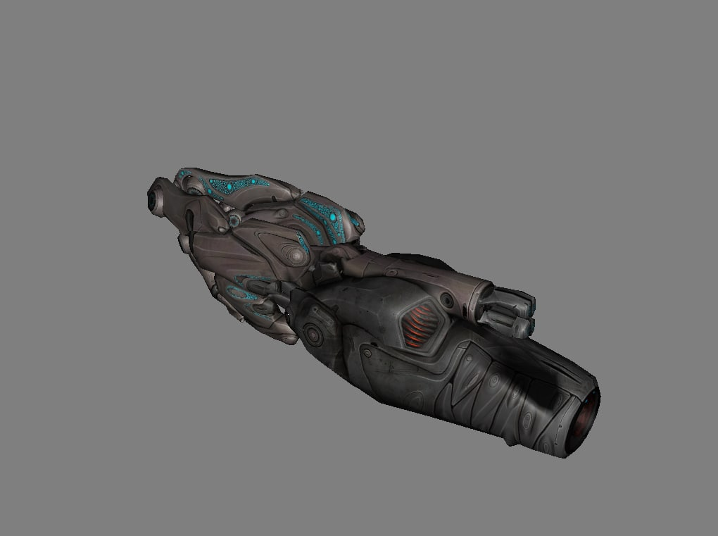 guns weapons monsters rifle 3D