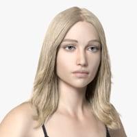 European Model Lady