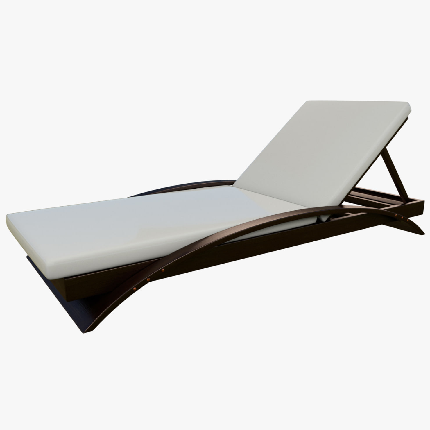 Pool lounge chair 3D model TurboSquid