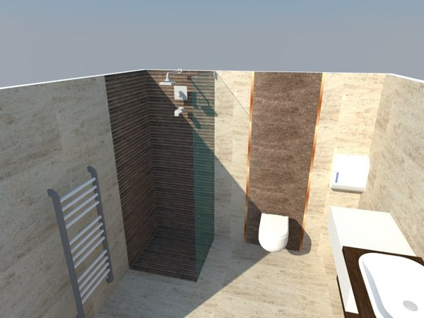 3D desgn bathroom