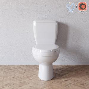 3D zoom wc model