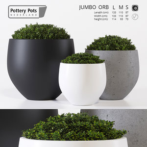 outdoor pots pottery model