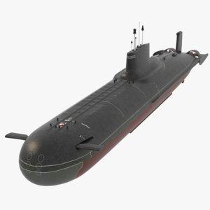 3D submarine typhoon 941