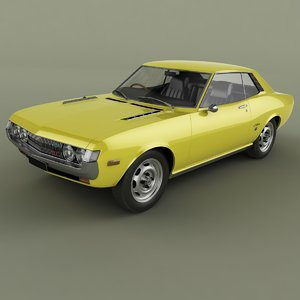 1970 toyota celica coupe 3D model
