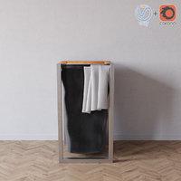 3D royal botania ninix towel holder model