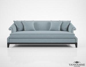 3D van hamme elliot sofa
