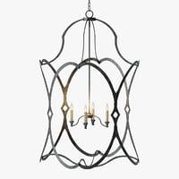 3D currey company charisma lantern