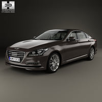 Hyundai Genesis (DH) with HQ interior 2014