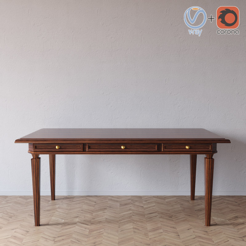 selva bernini table 3556 3D model