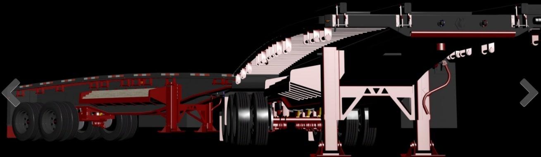 b-train trailer 3D