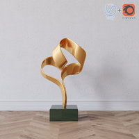 Decorative statue Gold tape