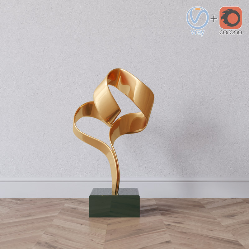 3D model decorative statue